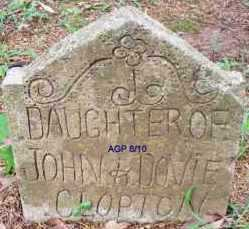 CLOPTON, DAUGHTER - Scott County, Arkansas | DAUGHTER CLOPTON - Arkansas Gravestone Photos