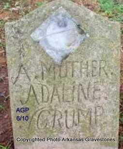 BROWN, ADALINE (MRS) - Scott County, Arkansas | ADALINE (MRS) BROWN - Arkansas Gravestone Photos