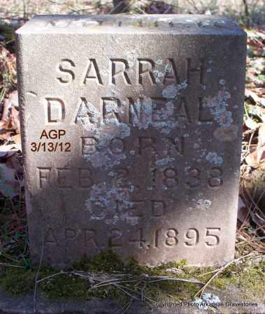 DARNEAL, SARRAH - Scott County, Arkansas   SARRAH DARNEAL - Arkansas Gravestone Photos