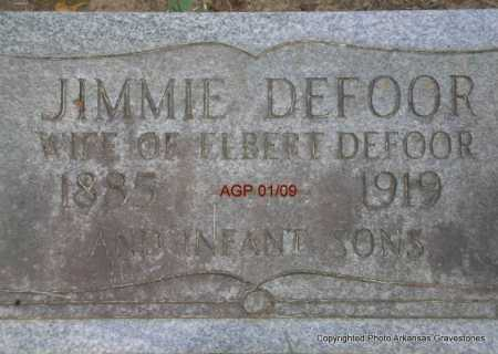 LARIMORE DEFOOR, JIMMIE - Scott County, Arkansas   JIMMIE LARIMORE DEFOOR - Arkansas Gravestone Photos