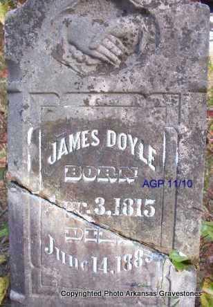 DOYLE, JAMES - Scott County, Arkansas | JAMES DOYLE - Arkansas Gravestone Photos