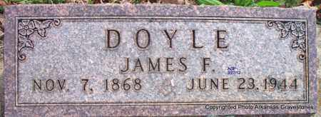 DOYLE, JAMES F - Scott County, Arkansas | JAMES F DOYLE - Arkansas Gravestone Photos