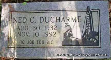 DUCHARME, NED CHARLES - Scott County, Arkansas | NED CHARLES DUCHARME - Arkansas Gravestone Photos