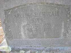 DUNN, CAROLINE E - Scott County, Arkansas   CAROLINE E DUNN - Arkansas Gravestone Photos