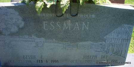 ESSMAN, BESSIE E - Scott County, Arkansas | BESSIE E ESSMAN - Arkansas Gravestone Photos