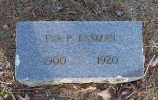 ESSMAN, EVA P - Scott County, Arkansas | EVA P ESSMAN - Arkansas Gravestone Photos