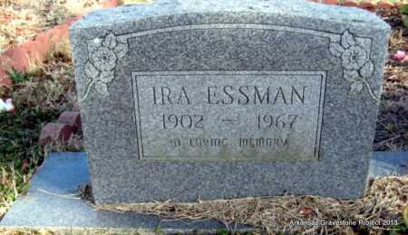 ESSMAN, IRA - Scott County, Arkansas | IRA ESSMAN - Arkansas Gravestone Photos