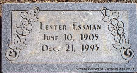 ESSMAN, LESTER - Scott County, Arkansas | LESTER ESSMAN - Arkansas Gravestone Photos
