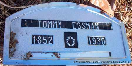 ESSMAN, TOMMY - Scott County, Arkansas | TOMMY ESSMAN - Arkansas Gravestone Photos