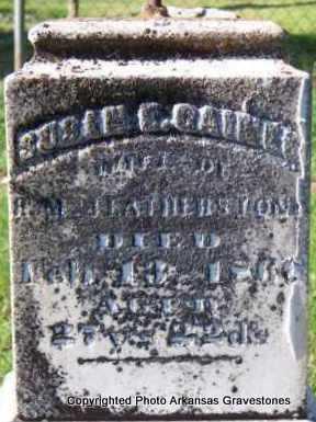 GAINES FEATHERSTON, SUSAN E - Scott County, Arkansas | SUSAN E GAINES FEATHERSTON - Arkansas Gravestone Photos