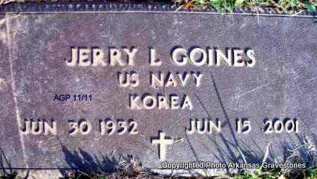 GOINES  (VETERAN KOR), JERRY L - Scott County, Arkansas | JERRY L GOINES  (VETERAN KOR) - Arkansas Gravestone Photos