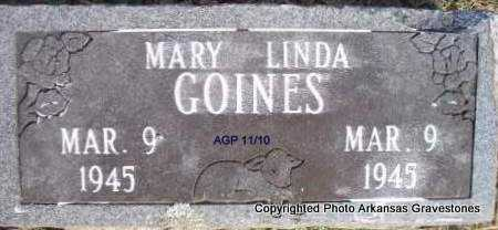 GOINES, MARY LINDA - Scott County, Arkansas | MARY LINDA GOINES - Arkansas Gravestone Photos