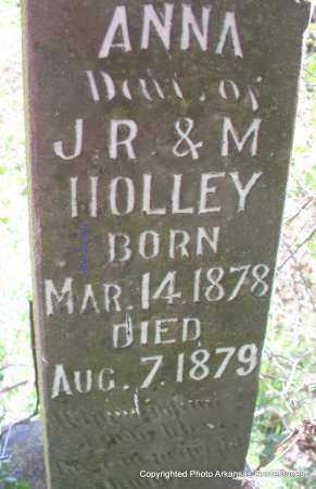 HOLLEY, ANNA - Scott County, Arkansas | ANNA HOLLEY - Arkansas Gravestone Photos