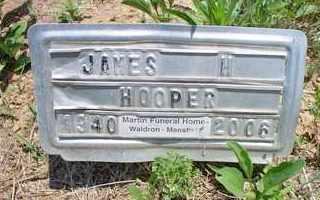 HOOPER, JAMES H - Scott County, Arkansas   JAMES H HOOPER - Arkansas Gravestone Photos