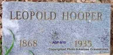 HOOPER, LEOPOLD - Scott County, Arkansas   LEOPOLD HOOPER - Arkansas Gravestone Photos