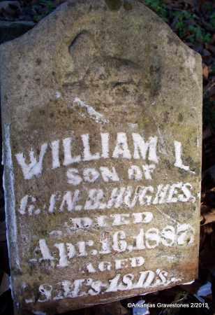 HUGHES, WILLIAM L - Scott County, Arkansas   WILLIAM L HUGHES - Arkansas Gravestone Photos
