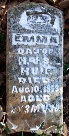 HUIE, EMMA A - Scott County, Arkansas | EMMA A HUIE - Arkansas Gravestone Photos