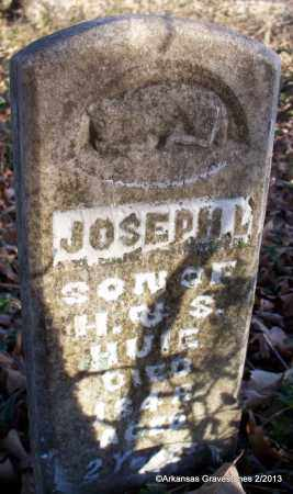 HUIE, JOSEPH L - Scott County, Arkansas | JOSEPH L HUIE - Arkansas Gravestone Photos