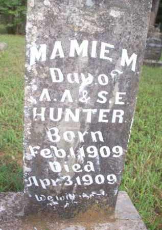 HUNTER, MAMIE M - Scott County, Arkansas | MAMIE M HUNTER - Arkansas Gravestone Photos