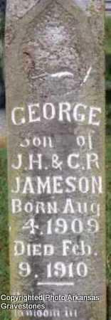 JAMESON, GEORGE - Scott County, Arkansas   GEORGE JAMESON - Arkansas Gravestone Photos