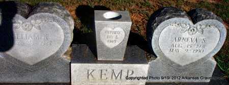 KEMP, ARNEVA - Scott County, Arkansas | ARNEVA KEMP - Arkansas Gravestone Photos