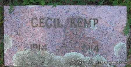 KEMP, CECIL - Scott County, Arkansas | CECIL KEMP - Arkansas Gravestone Photos