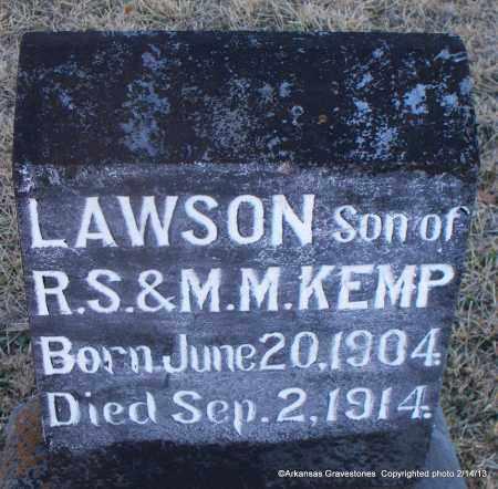KEMP, LAWSON - Scott County, Arkansas | LAWSON KEMP - Arkansas Gravestone Photos