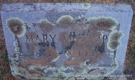 KEMP, MARY M - Scott County, Arkansas   MARY M KEMP - Arkansas Gravestone Photos