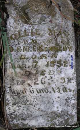 KENNEDY, OLLIE MAY - Scott County, Arkansas   OLLIE MAY KENNEDY - Arkansas Gravestone Photos