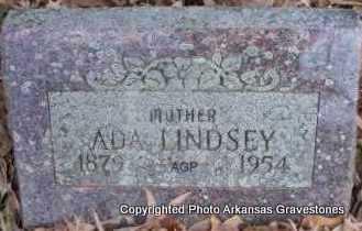 LINDSEY, ADA - Scott County, Arkansas | ADA LINDSEY - Arkansas Gravestone Photos