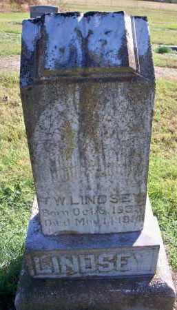 LINDSEY, T W - Scott County, Arkansas | T W LINDSEY - Arkansas Gravestone Photos