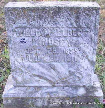 LINDSEY, WILLIAM ELBERT - Scott County, Arkansas   WILLIAM ELBERT LINDSEY - Arkansas Gravestone Photos