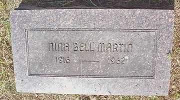 MARTIN, NINA BELL - Scott County, Arkansas | NINA BELL MARTIN - Arkansas Gravestone Photos