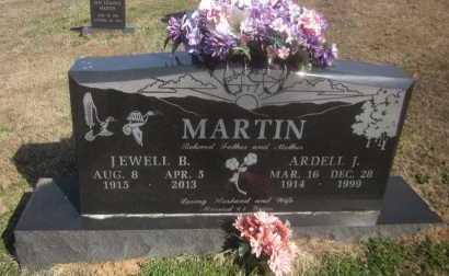 MARTIN, ARDELL J - Scott County, Arkansas | ARDELL J MARTIN - Arkansas Gravestone Photos