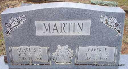 MARTIN, CHARLES O - Scott County, Arkansas | CHARLES O MARTIN - Arkansas Gravestone Photos