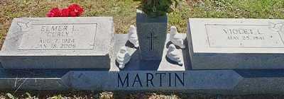 "MARTIN, ELMER L   ""CURLY"" - Scott County, Arkansas | ELMER L   ""CURLY"" MARTIN - Arkansas Gravestone Photos"