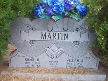 MARTIN, WILLIAM B - Scott County, Arkansas | WILLIAM B MARTIN - Arkansas Gravestone Photos