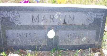 MARTIN, JAMES E - Scott County, Arkansas | JAMES E MARTIN - Arkansas Gravestone Photos