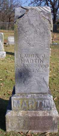 MARTIN, LAURA  J - Scott County, Arkansas   LAURA  J MARTIN - Arkansas Gravestone Photos