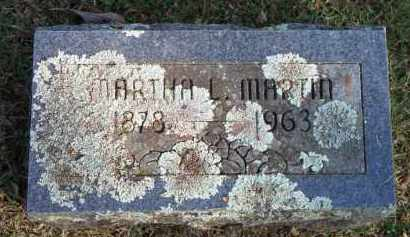 MARTIN, MARTHA L - Scott County, Arkansas | MARTHA L MARTIN - Arkansas Gravestone Photos