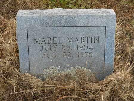 MARTIN, MABEL - Scott County, Arkansas   MABEL MARTIN - Arkansas Gravestone Photos
