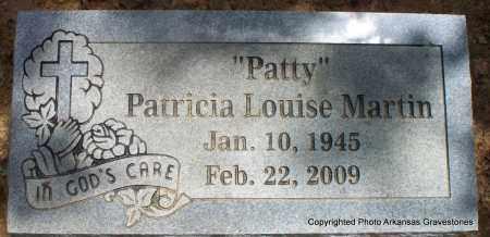 "MARTIN, PATRICIA LOUISE ""PATTY"" - Scott County, Arkansas | PATRICIA LOUISE ""PATTY"" MARTIN - Arkansas Gravestone Photos"
