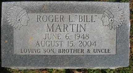 """MARTIN, ROGER L  """"BILL"""" - Scott County, Arkansas   ROGER L  """"BILL"""" MARTIN - Arkansas Gravestone Photos"""
