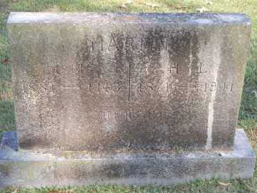 MARTIN, T F - Scott County, Arkansas | T F MARTIN - Arkansas Gravestone Photos