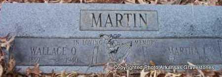 MARTIN, MARTHA I - Scott County, Arkansas | MARTHA I MARTIN - Arkansas Gravestone Photos
