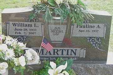 MARTIN, WILLIAM L - Scott County, Arkansas   WILLIAM L MARTIN - Arkansas Gravestone Photos