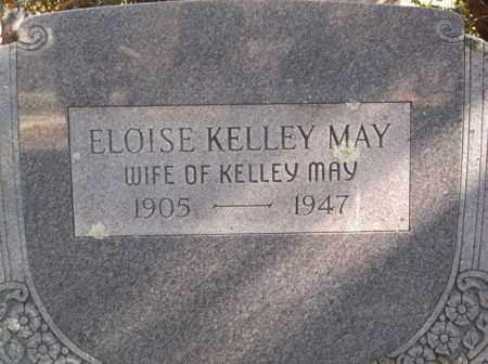 MAY, ELOISE KELLEY - Scott County, Arkansas   ELOISE KELLEY MAY - Arkansas Gravestone Photos