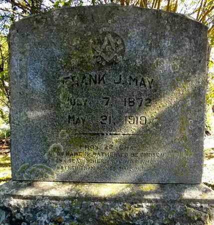 MAY, FRANK J - Scott County, Arkansas | FRANK J MAY - Arkansas Gravestone Photos