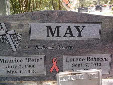 "MAY, MAURICE MARION ""PETE"" - Scott County, Arkansas   MAURICE MARION ""PETE"" MAY - Arkansas Gravestone Photos"