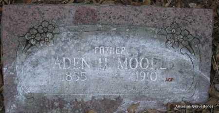 MOORE, ADEN H - Scott County, Arkansas | ADEN H MOORE - Arkansas Gravestone Photos